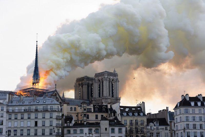 L'astrologie révèle les causes de l'incendie de Notre Dame!