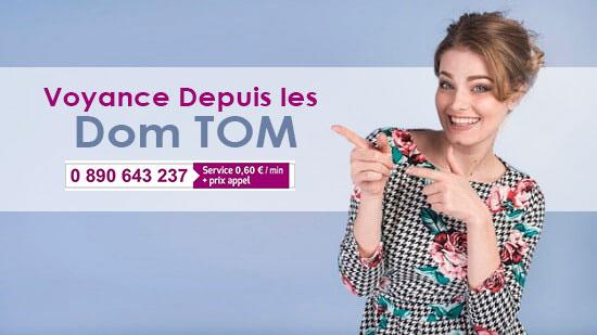 voyance Dom Tom de qualité et pas cher